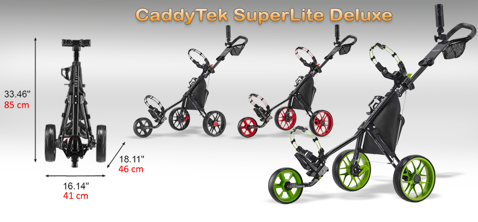 CaddyTek SuperLite Deluxe